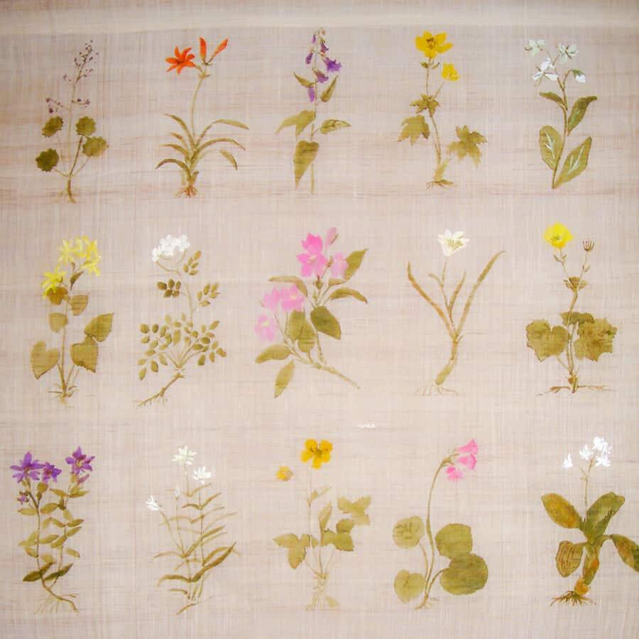 野の花山の花の作品